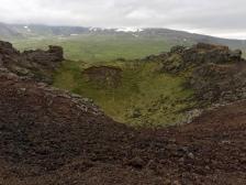 Saxhóll Crater, West Iceland