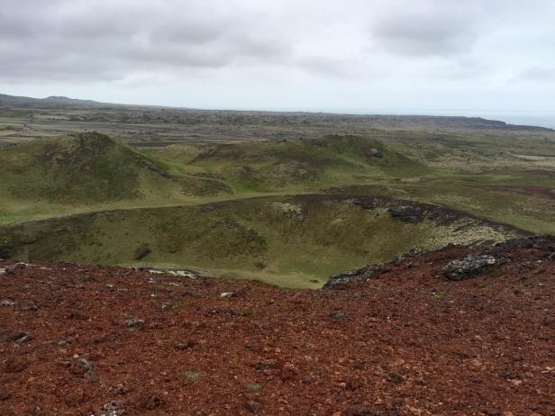 Holaholar hike, Snaefellsjoekull National Park, Iceland