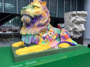 HSBC Building - Stitt the Lion